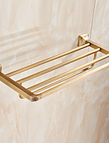 Bathroom Shelf / Brushed / Wall Mounted /60*15*10 /Brass /Contemporary /60 15 1.52