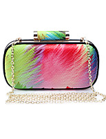 L.WEST Women's The Elegant Colorful Evening Bag