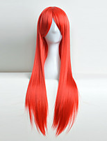 Cosplay Wig Color Anime Europe And The United States Red Hair Hot Head 80 cm