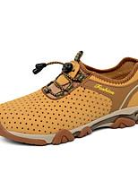 Men's Shoes Outdoor Fleece Fashion Sneakers Blue / Brown / Khaki