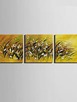 Canvas Set Maisema European Style,3 paneeli Kanvas Neliö Tulosta Art Wall Decor