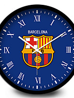 Barcelona Creative Football Home Furnishing Mute Quartz Wall Clock