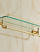 Bathroom Shelf / Polished Brass / Wall Mounted /60*15*15 /Brass /Antique /60 15 1.798
