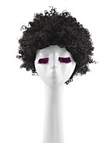 Cosplay Wigs Black Short Afro Synthetic Cheap Kinky Curly Wigs For Black Women Fashion Hair
