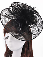 The Graceful Lace Top Hat