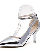 Women's Shoes Patent Leather Summer Heels Heels Casual Stiletto Heel Others Silver / Champagne