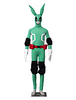 Ispirato da My Hero Battaglia Academy For All / Boku no Eroe Academia Midoriya Izuku anime Costumi Cosplay Abiti Cosplay Tinta unita
