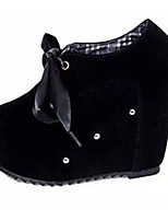 Women's Heels Summer Wedges Fleece Casual Wedge Heel Rivet Black / Red Others