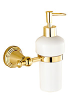 Soap Dispenser / Polished Brass / Wall Mounted /15*10*20 /Brass /Antique /15 10 0.278
