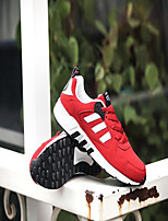Unisex Sneakers Spring / Summer / Fall / Winter Pointed Toe Synthetic Others Black / Blue / Red Running