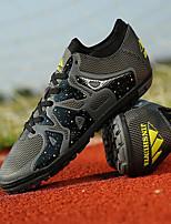 Zapatos Fútbol Tul Negro / Azul / Naranja Unisex