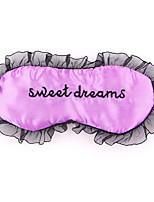 Tipo de curso dormir olho máscara 0004 sonhos doces laço de tecido de cetim