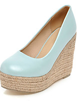 Women's Shoes Fall Wedges / Heels / Platform / Round Toe Heels Office & Career / Dress / Casual Wedge Heel Slip-on