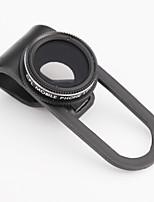 skina cpl-10 filtre non de coin sombre polarisant clip pour téléphone mobile noir / blanc