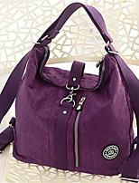 Women-Formal-PU-Shoulder Bag-Purple