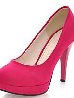 Women's Shoes Stiletto Heel Round Toe Platform Pumps More Colors Available