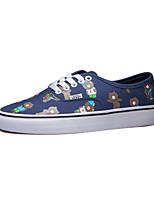 Vans x Line Friends Classics Authentic Men's Shoes Canvas Outdoor / Athletic / Casual Sneakers Flat Heel