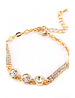 Women's  Classic Luxury Sparkling Crystal Decoration Bracelet