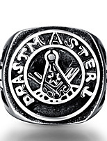 Men's / women's ring The ancient Maya Punk Vintage 316 l steel ring for party GMYR230
