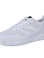 Men's Shoes Tulle Casual Sneakers Casual Sneaker Flat Heel Others Black / Blue / White
