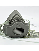 máscara de polvo 3m3200 tres piezas de polvo antipartícula máscara protectora industrial