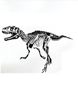 Dinosaur Silhouette Decorative Wall Stickers Living Room Bedroom Den