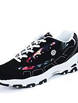 Scarpe da uomo-Sneakers alla moda-Casual-Felpato-Nero / Grigio