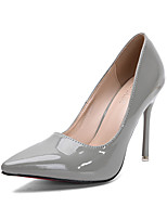 Women's Shoes Fall Heels / Pointed Toe / Closed Toe Clogs & Mules Dress Stiletto Heel Others White / Gray / Burgundy