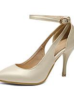 Mujer-Tacón Stiletto-TaconesBoda / Vestido / Casual / Fiesta y Noche-Materiales Personalizados-Rosa / Plata / Oro