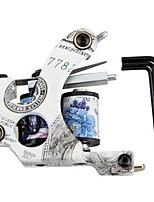 문신 기계 pistolet의 tatouer의 tatouage 문신 (10) bobines + 3 tournevis