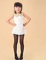 meisjes sokken&kousen, all seasons katoen mengsels zwart / wit