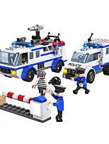 Cogo sauvetage construction policiers série lego blocs-urgence véhicules-368 pcs