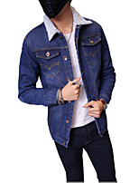 Autumn/new/man/men/long/denim dress/jacket/coat/jacket/fashion/trend  SLS-NZ-DZ31921