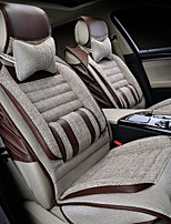 Comfort Models - Gold Coarse Linen Automotive Supplies Microfiber Leather Car Seats