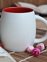 1pc 500ml tasse en céramique authentique créative marque tasse en verre de thé tasse de café couleur aléatoire