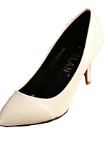 Women's Heels Summer Heels PU Casual Stiletto Heel Others Black / White / Beige Others