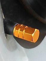 färgade personlig ventilkåpan bildäck ventilhatten