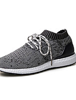 Men's Sneakers Spring / Summer / Fall Comfort Tulle Casual Flat Heel Others Blue / Gray / Orange Sneaker
