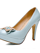 Women's Shoes Customized Materials Stiletto Heel Heels Heels Wedding / Party & Evening / Dress / Casual Blue / Pink