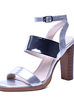 Women's Shoes Glitter  Heels / Gladiator / Ankle Strap Sandals Party & Evening / Dress / Casual Chunky Heel