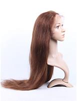 EVAWIGS Brazilian Virgin Full Lace Human Hair Wigs Glueless Straight Wigs for fashion Women Free Part