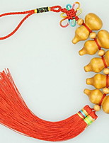 Mahogany Gourd Ornaments