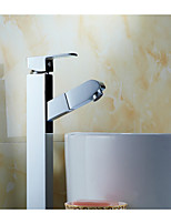 With Hot And Cold Shower, Copper Pull Type Faucet