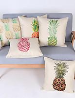 Decorative Pillow Case Cotton Fruit Pattern