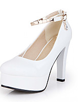 Women's Shoes Leatherette Spring /Fall Heels Heels Office & Career /  Casual Stiletto Heel queen extra large high heels