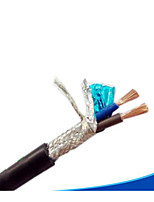 RVV 2x1.5 Shielded Cable 100 m 2 GB Core Shielded Cord Round Sheathed Electrical Equipment
