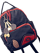Women-Formal / Casual / Office & Career / Shopping-PU-Backpack-Black