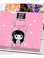 Household electronic weighing scale mini health scale cartoon body electronic scale new night vision weight scale