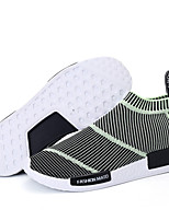 Men's Shoes Tulle Outdoor / Casual Flats Outdoor / Casual Walking Flat Heel Others Black / Green / Pink