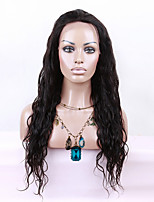 EVAWIGS Brazilian Virgin Hair Wig Lace Front Wig High Density  Natural Popular Water Wave  Lace Wig for Black Women